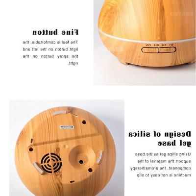 400ml Aroma Essential Oil Diffuser Grain Cool Mist