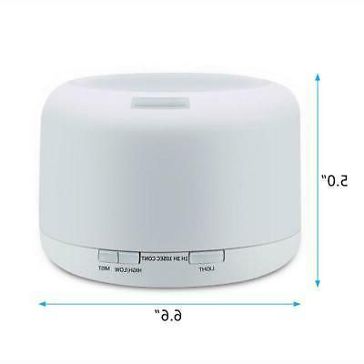 500ml Aromatherapy Aroma Essential Diffuser Air