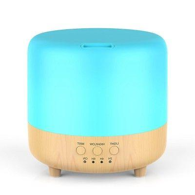 7 LED Essential Oil Humidifier Aroma Air Diffuser