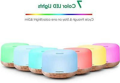 URPOWER Oil Diffuser Humidifier Diffusers for