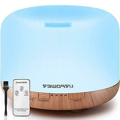 500ml aromatherapy essential oil diffuser humidifier diffuse