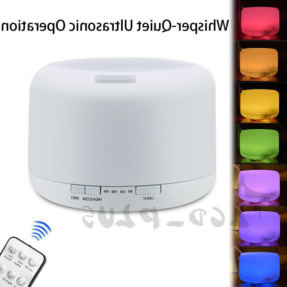 500ml essential oil diffuser led humidifier ultrasonic