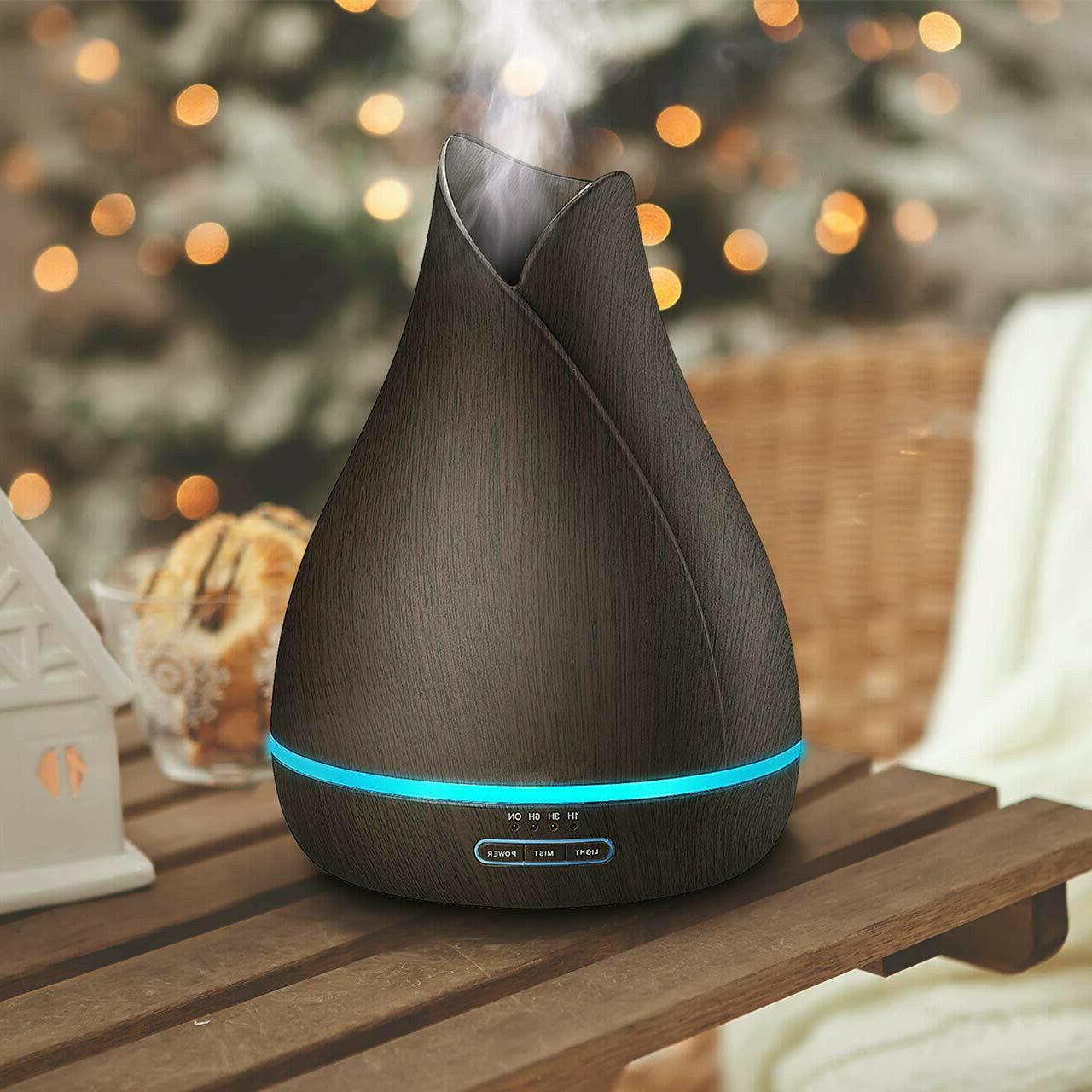 500ml Essential Diffuser with Ultra-Quiet Technology Ultrasonic Aroma Diffu