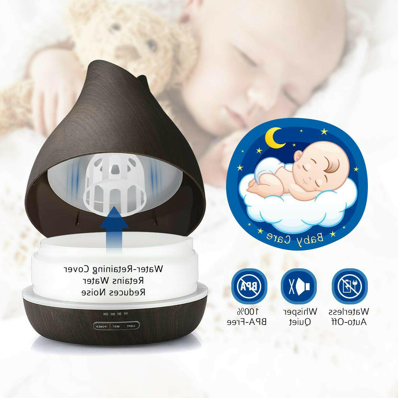 500ml Essential Diffuser with Ultrasonic