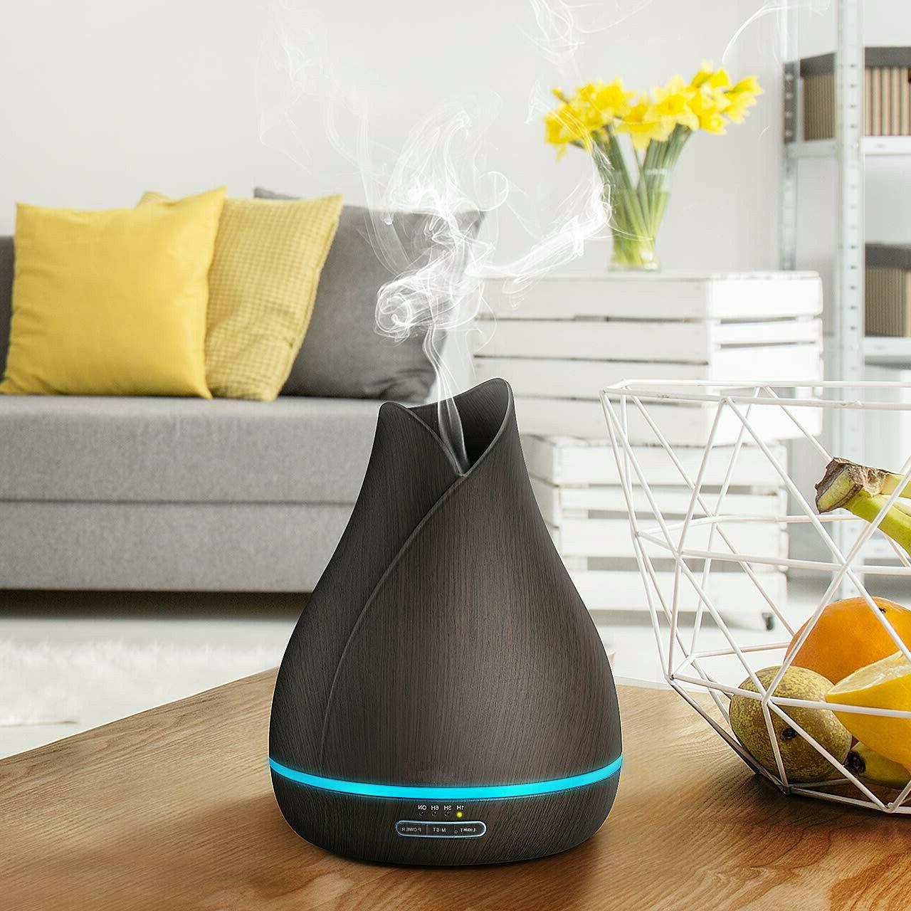 500ml essential oil diffuser with ultra quiet