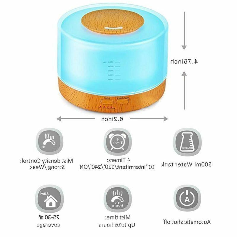 Humidifier Oil Diffuser Aromatherapy