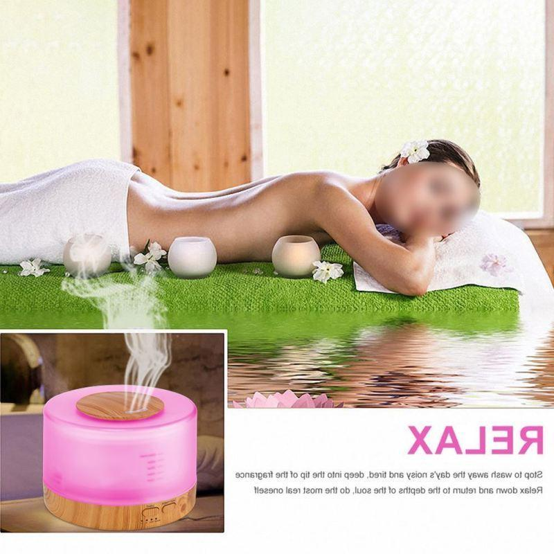 500ml Control Humidifier Essential Aromatherapy
