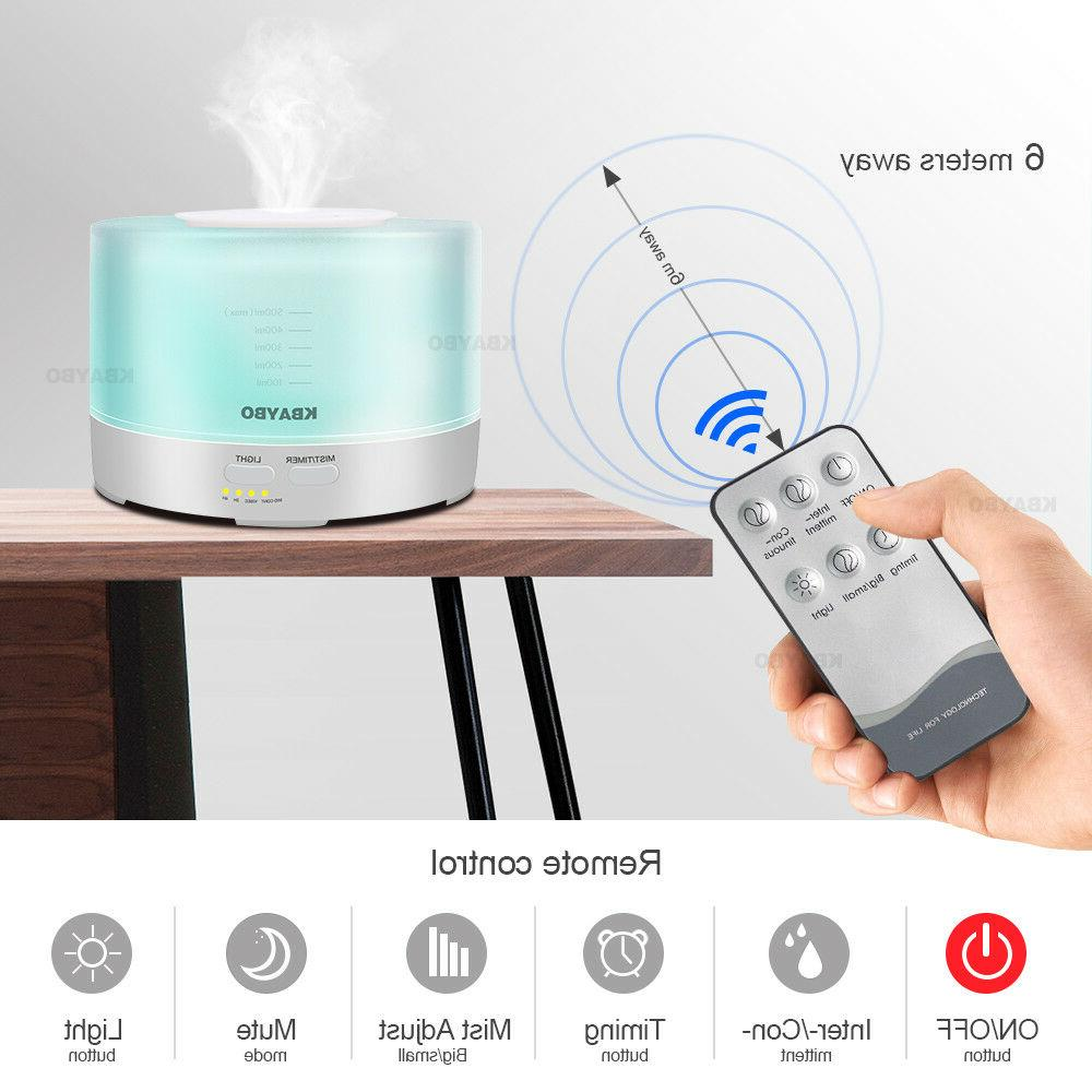 500ml Remote Humidifier Aromatherapy