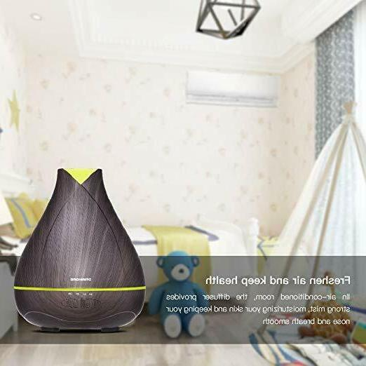 530ml Scentsy Air Diffusers for Essential Oil, 18hrs Running Oil