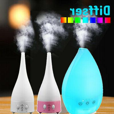 air aroma essential oil diffuser led ultrasonic
