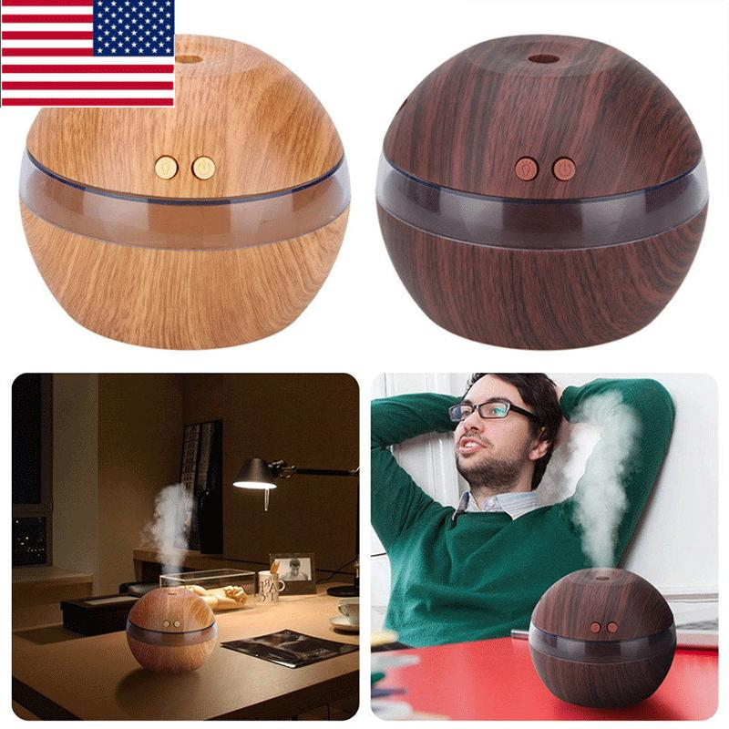 Ultrasonic Essential Oil Aroma Diffuser Humidifier Air Aroma
