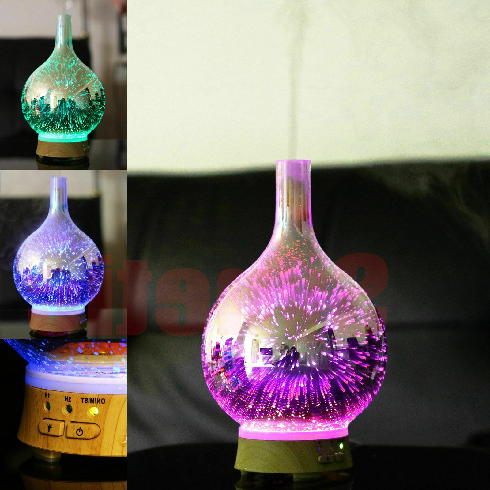 Air Diffuser Colorful Firework Essential Humidifier