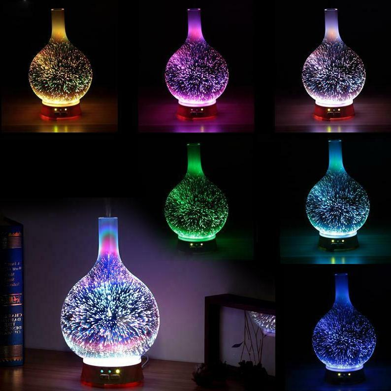 Air Diffuser Colorful Firework Essential Oil Mist Humidifier