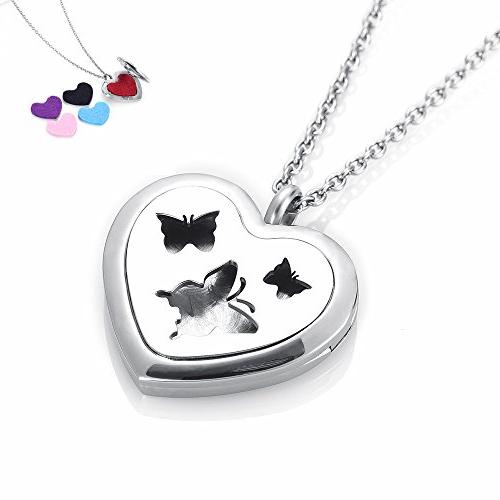 allergy butterfly heart aromatherapy