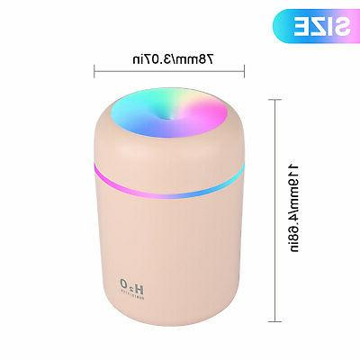 Aroma Essential Grain Ultrasonic Air LED Aromatherapy Humidifier