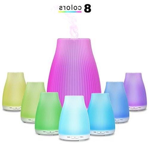 Neloodony Aromatherapy Essential Ultrasonic Essential With Colors Light Waterless Auto Shut-off For Home