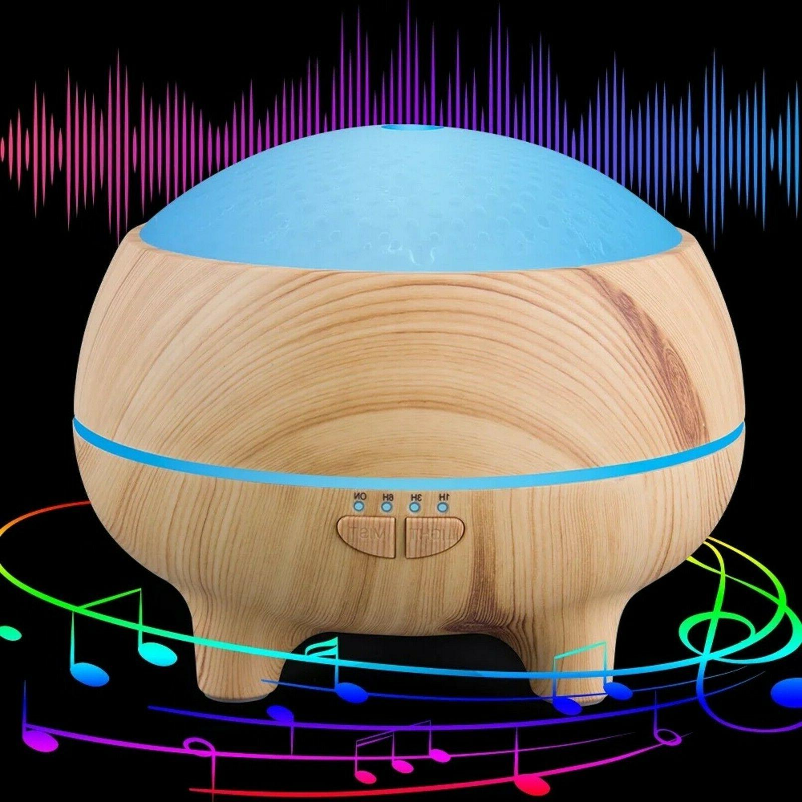 Aromatherapy Bluetooth Cool Oil Diffuser
