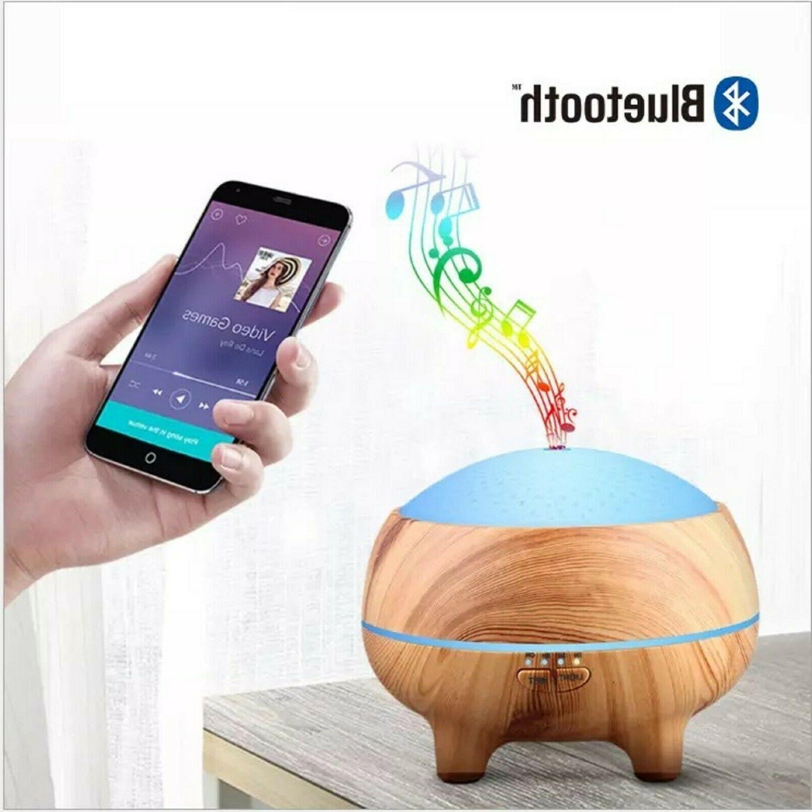 Aromatherapy Diffuser with Bluetooth Cool Oil Diffuser