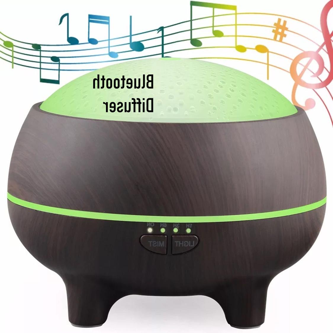 aromatherapy diffuser with bluetooth cool mist humidifier