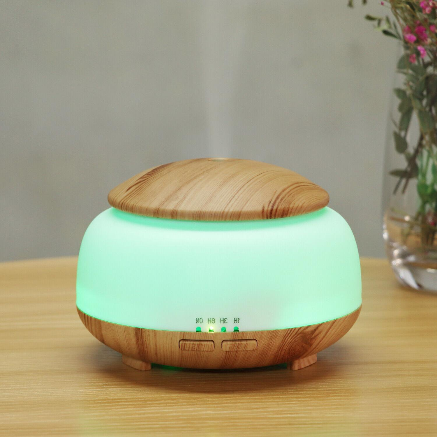 Aromatherapy Essential Diffuser Ultrasonic Cool Mist Humidifier
