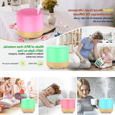 Aromatherapy Essential 300ml Ultrasonic Mist Humidifier