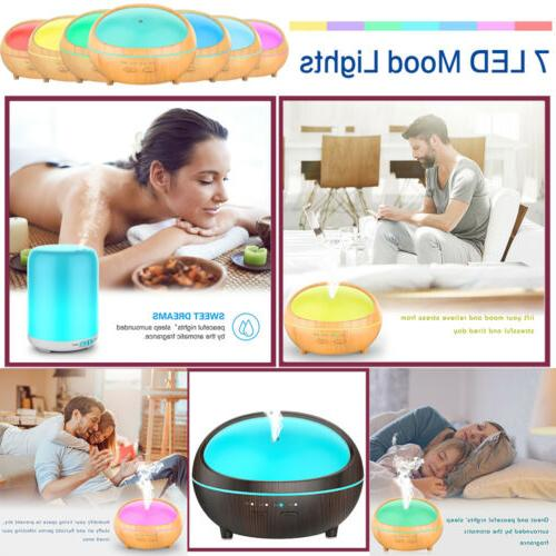 aromatherapy essential oil diffuser 300ml 500ml ultrasonic