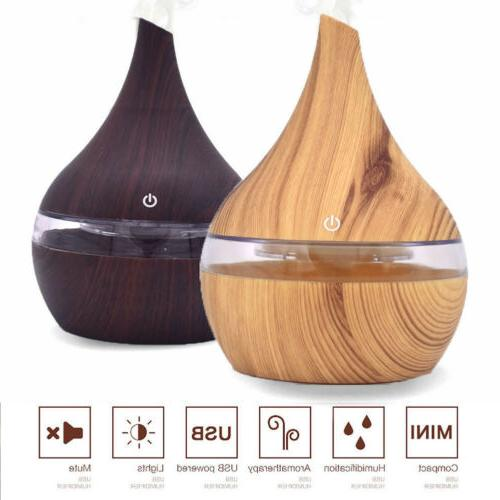 aromatherapy essential oil diffuser 300ml ultrasonic cool