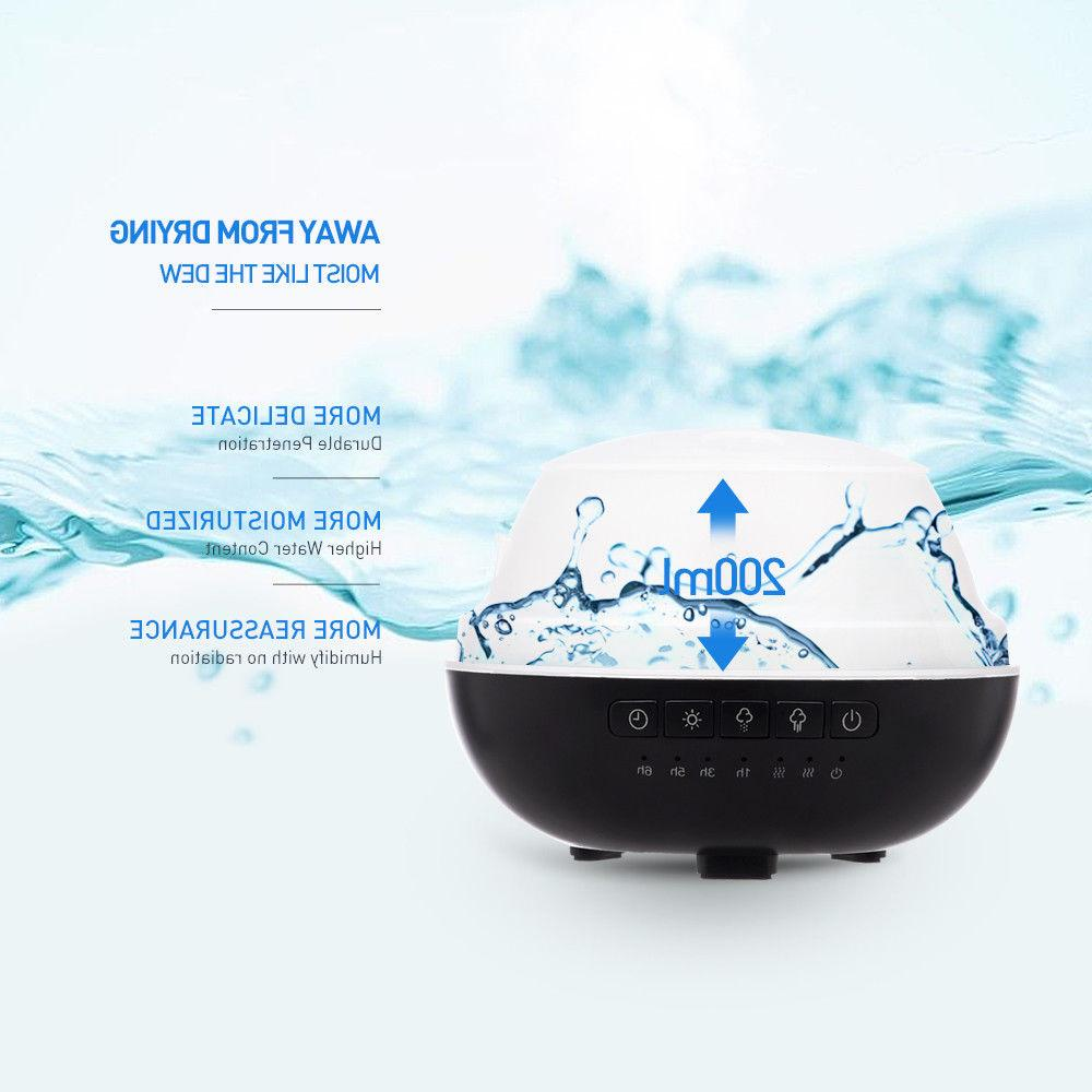 Aromatherapy Oil Diffuser Ultrasonic Mist Humidifier