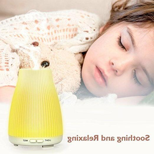 Neloodony Aromatherapy Essential Diffuser With Off Mode Pack