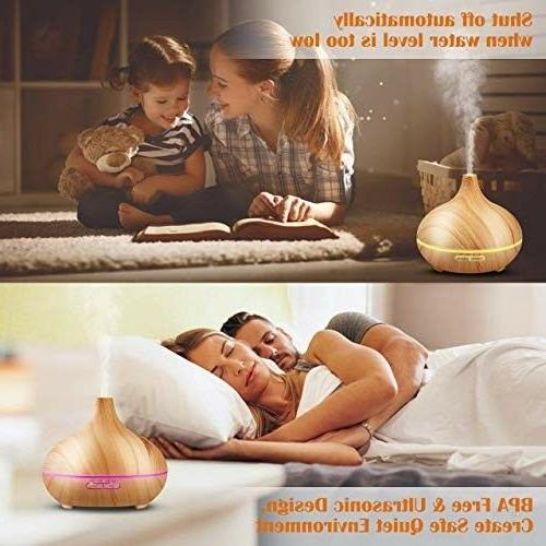 Aromatherapy Wooden Grain Diffuser Cool