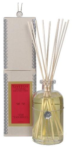 Votivo Aromatic Reed Diffuser, 7.3 fl. oz./216 ml, Red Curra
