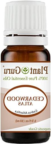 Cedarwood  Essential Oil 10 ml 100% Pure Undiluted Therapeut