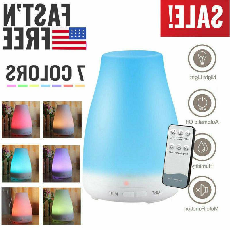 Cool Mist Ultrasonic Diffuser+Remote Control