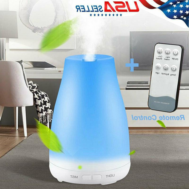 Cool Ultrasonic Essential Diffuser+Remote Control