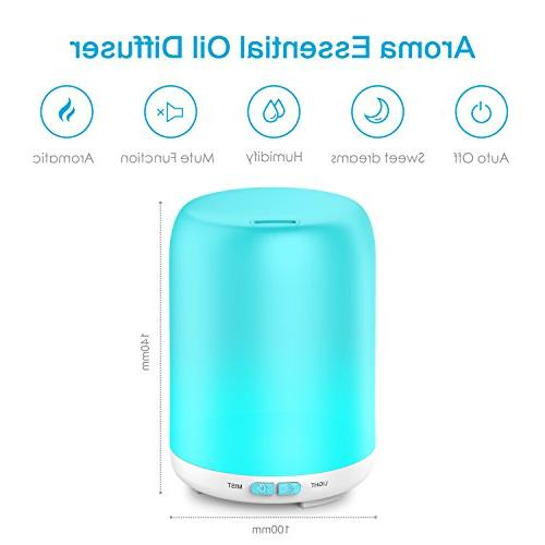 Essential Oil Pack Aroma Diffuser Cool 7 Auto Shut-off for Home Spa Baby