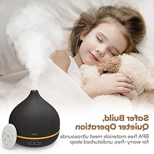 Diffuser Anjou Oil Mist 16 Colors,Reduce Up of Auto Shut-Off