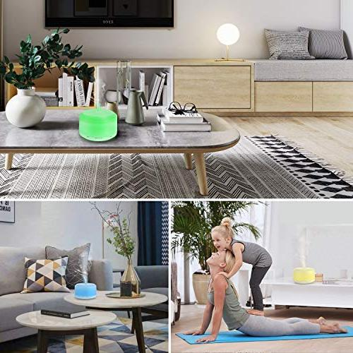 Essential Oil Diffuser Oils Neloodony Cool Mist LED Auto Mist & Timer For