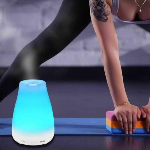 Essential Oil Aroma Diffuser Aromatherapy LED Air