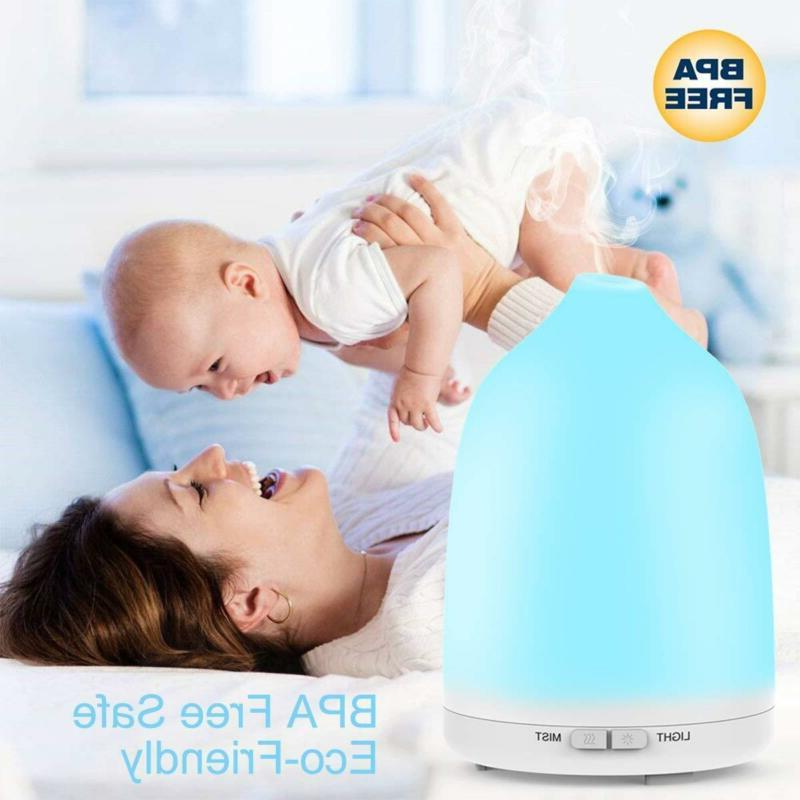 Essential Diffuser Avaspot 150ml Portable Ultrasonic Aroma Diffuser 2