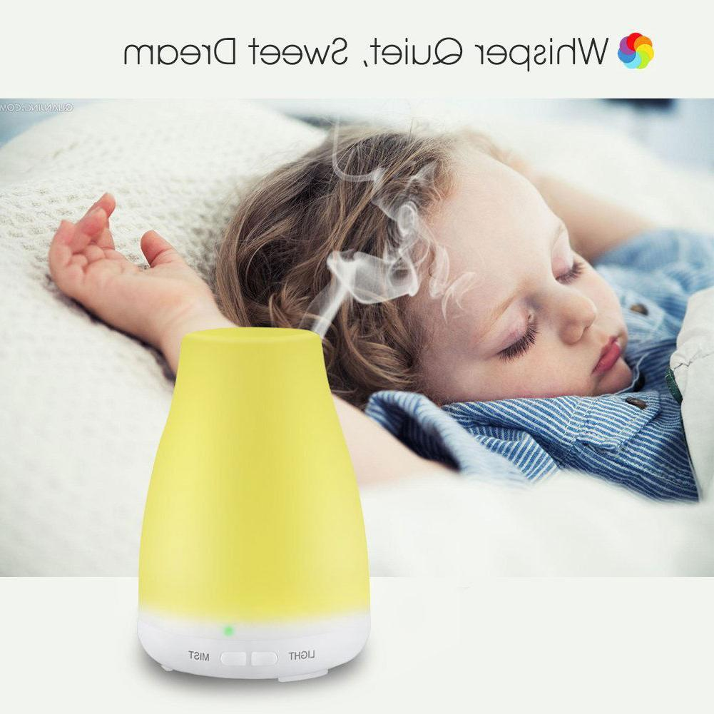 Essential Diffuser Color Change Air Mist Humidifier