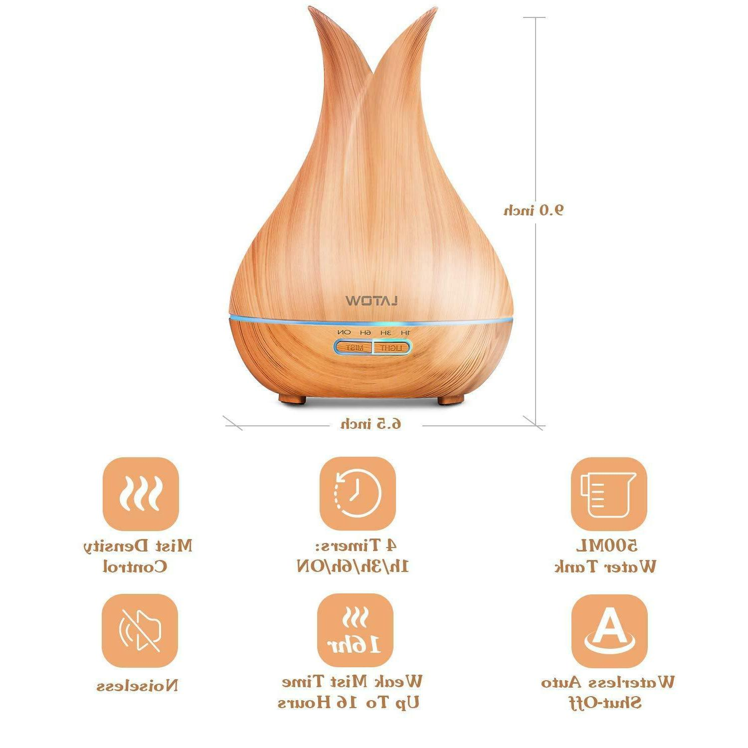 Essential Oil Ultrasonic Wood Grain 500ml