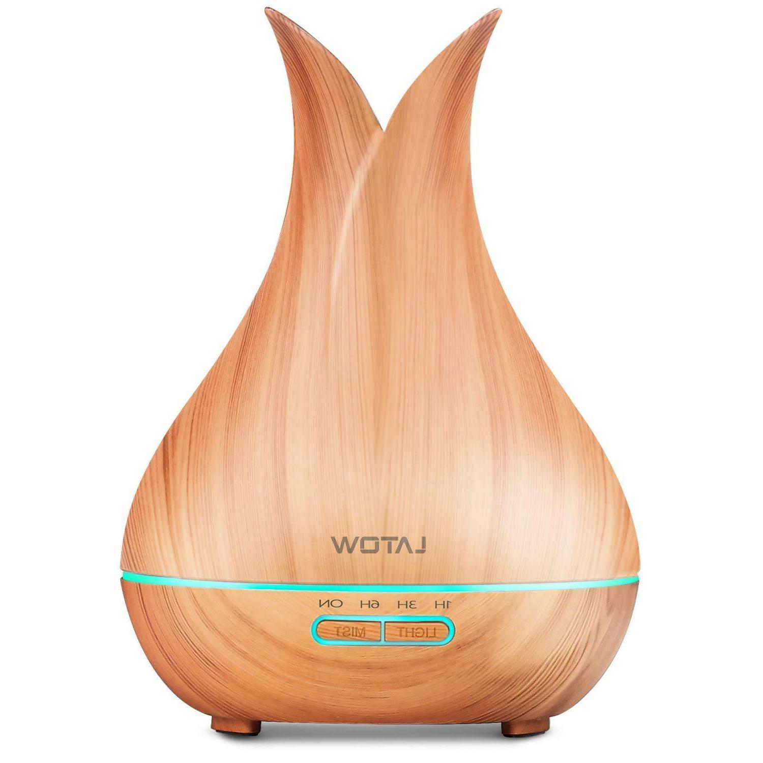 essential oil diffuser humidifier ultrasonic aromatherapy wo