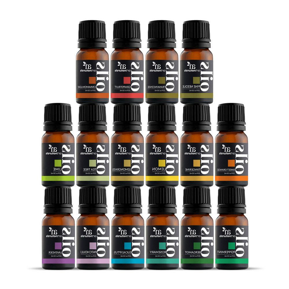 pure essential oil sets natural aromatherapy
