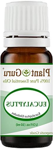 Eucalyptus Essential Oil 10 ml 100% Pure Undiluted Therapeut