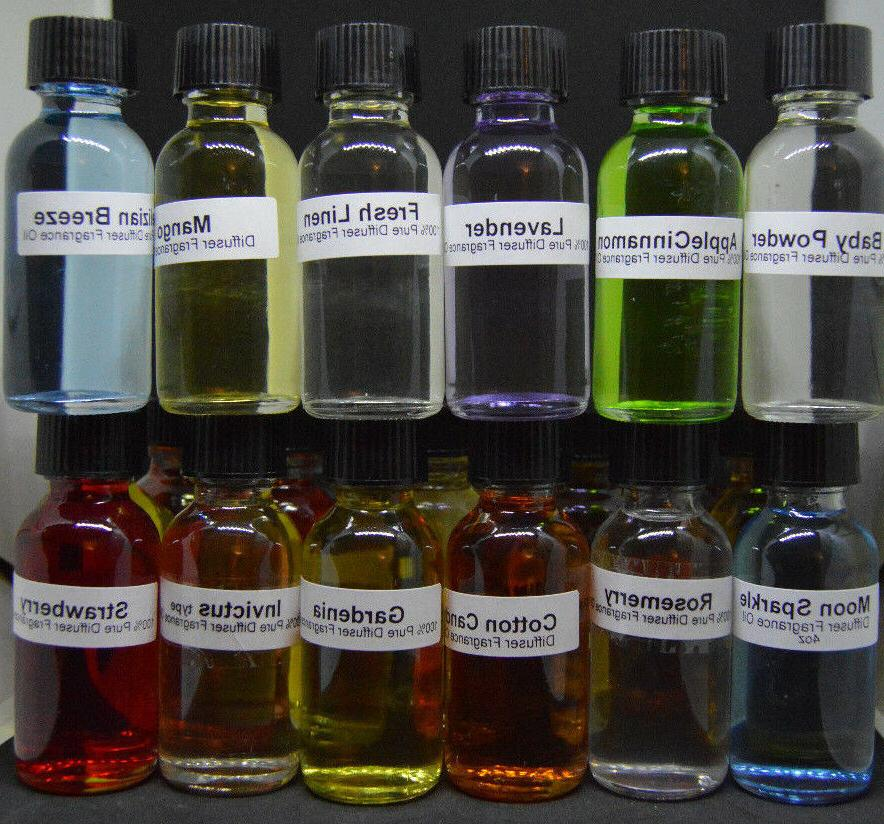 Fragrance Oil oz for Burners / Warmers