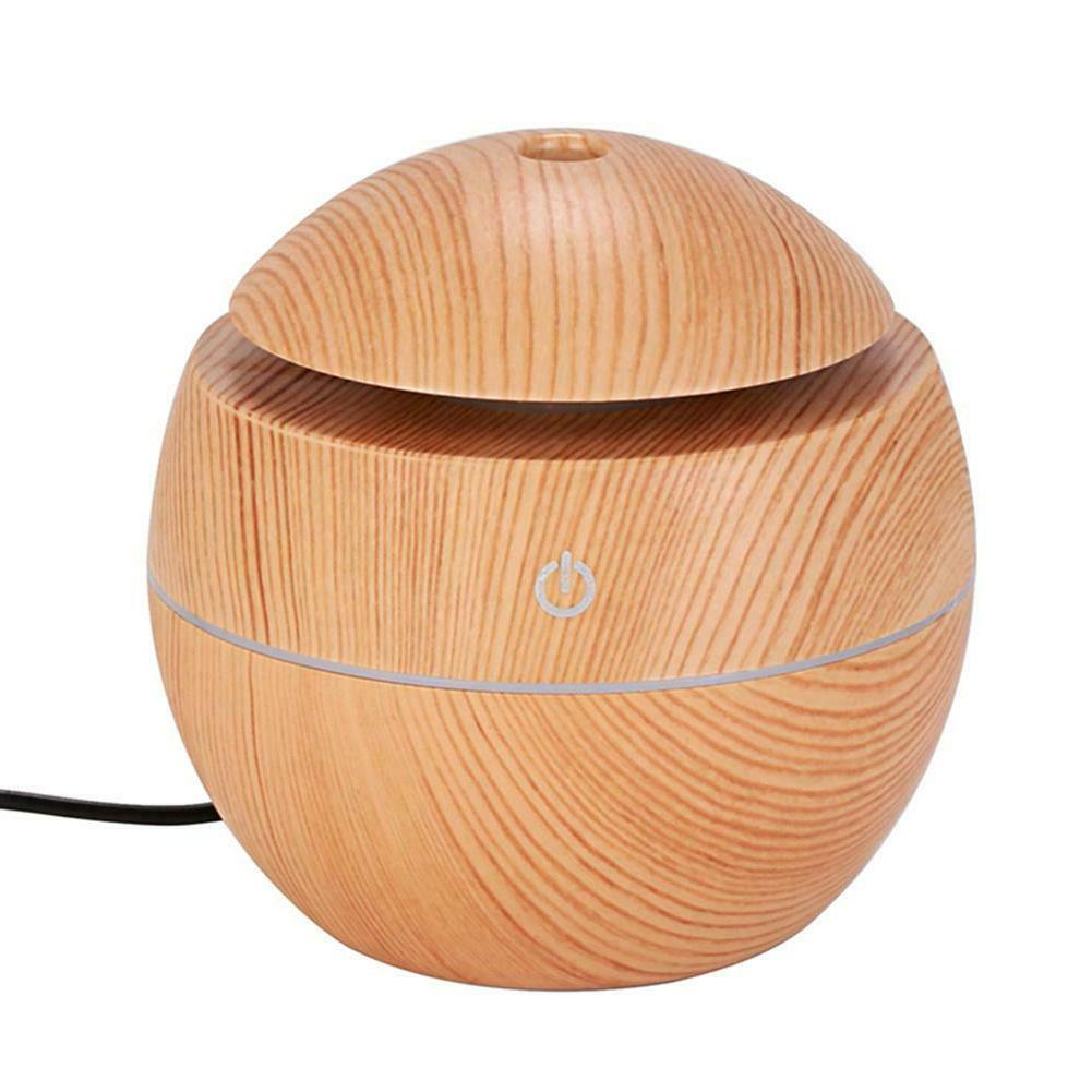 Home Essential Diffuser Wood Aromatherapy Humidifier#