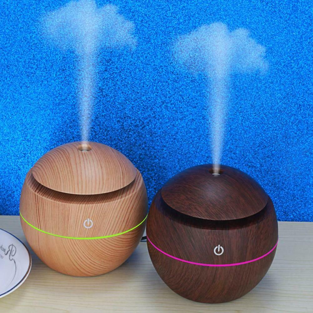 Home Essential Oil Diffuser Wood Aromatherapy