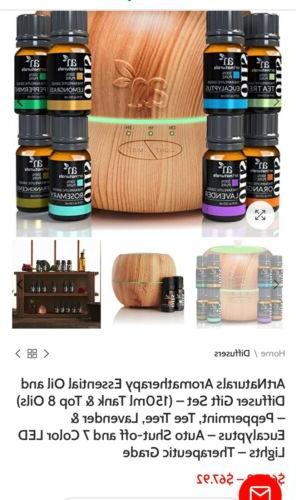 Humidifier And Diffuser Set Essential