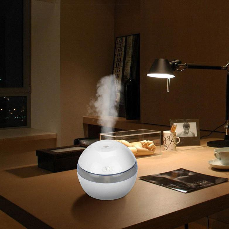 LED Ultrasonic Essential Humidifier Purifier