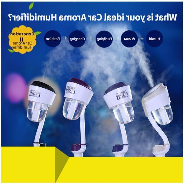 Mini Car Humidifier Freshener with charger